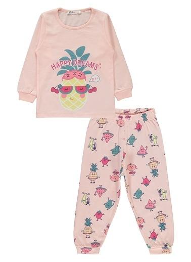 Civil Girls Civil Baby Kız Çocuk Pijama Takımı 2-5 Yaş Pudra Civil Baby Kız Çocuk Pijama Takımı 2-5 Yaş Pudra Pudra